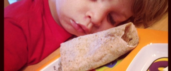 Burrito...is...too...LARGE!