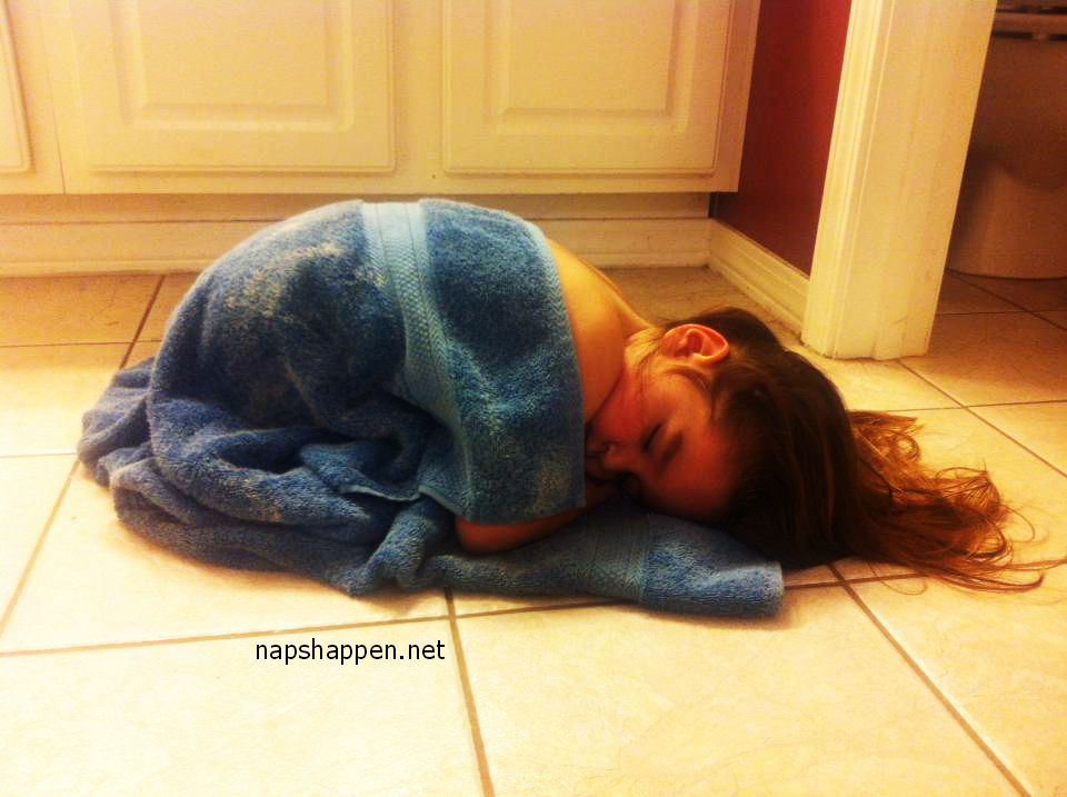 Guest Napper #164: Tiled and Toweled